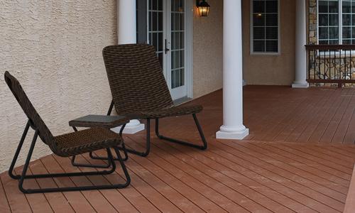 Muebles estrechos para colocar en la terraza