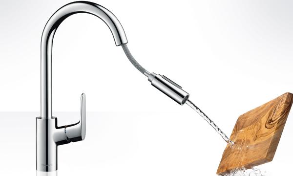Griferías de cocina estéticas y funcionales