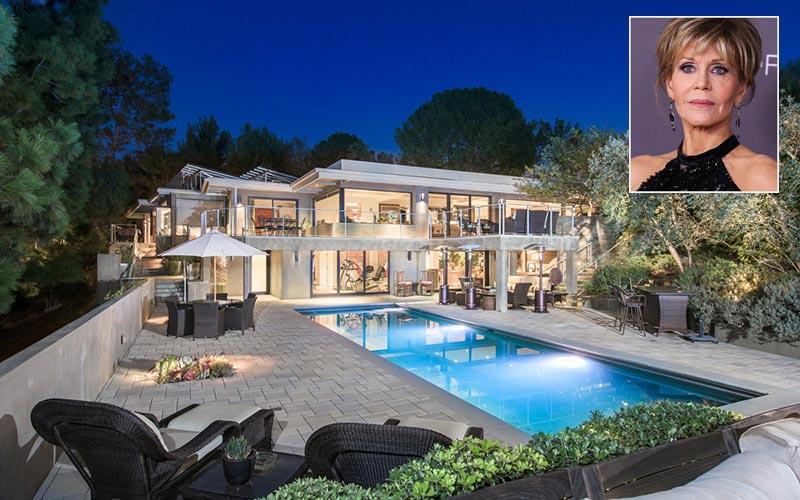 Jane Fonda vende su mansión ecológica por más de 8 millones de euros