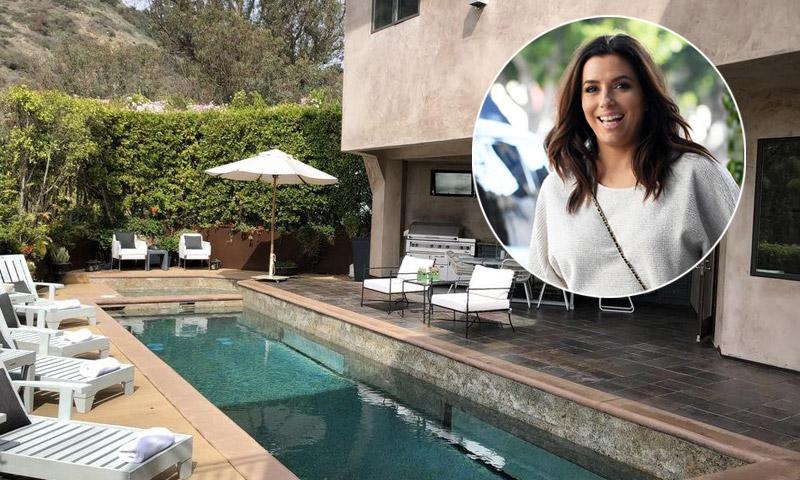 FOTOGALERÍA: Eva Longoria, a punto de dar a luz, vende su espectacular mansión ¡Pasen y vean!