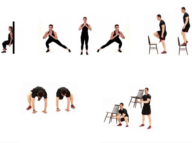 Rutinas de ejercicios para perdida de peso
