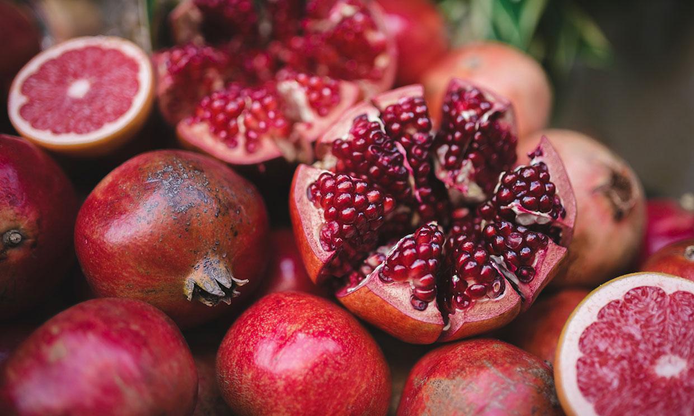 Sidra para adelgazar fruta granada
