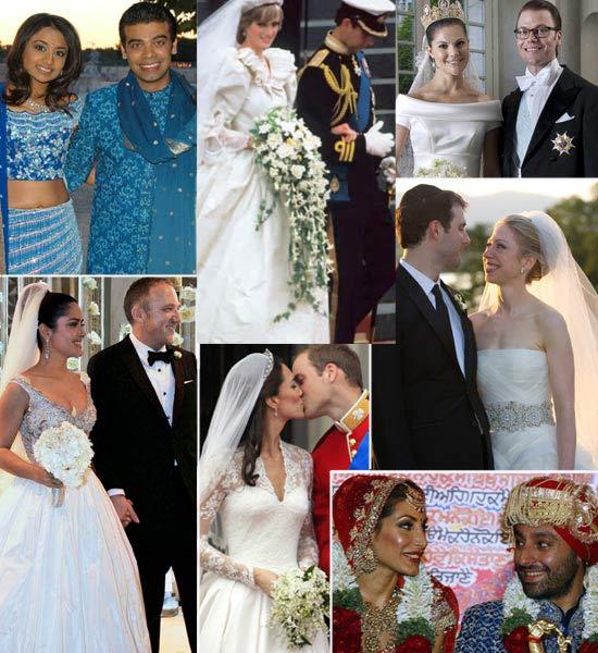 6730ce10bb Las 15 bodas más caras de la historia
