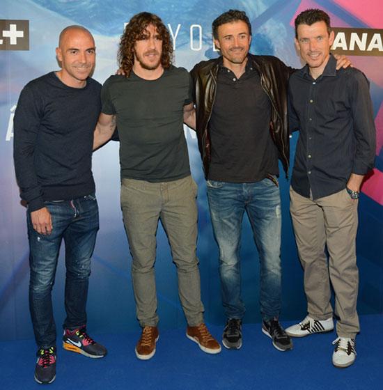 ¿Cuánto mide Carles Puyol? - Altura - Real height Puyol-futbolistas2-z