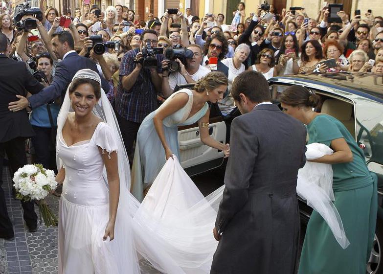 boda religiosa francisco rivera y lourdes montes