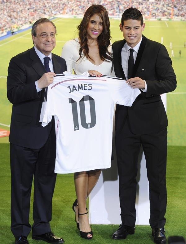 James Rodriguez Familia