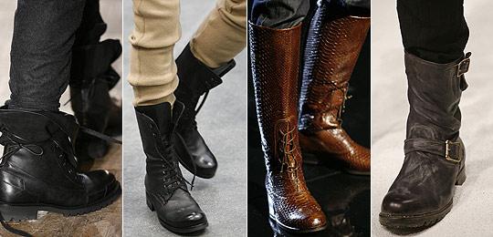 Zapatos de invierno estilo militar para hombre 47VAE0