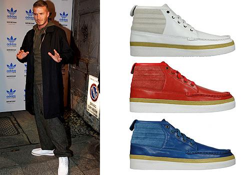 evidencia calina Camarada  David Beckham reinventa las clásicas 'Gazelle'