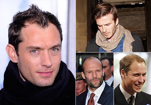 Peinados para hombres con cabello delgado