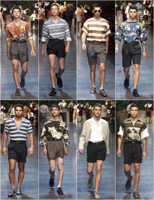 Pantanones Cortos Hombre De Vestir
