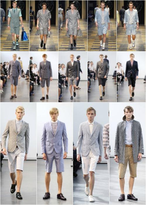 Tendencias Para Hombre Los Pantalones Cortos Ya No Son Tan Cortos