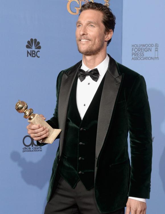 e5ea1c1e7d Los siete hombres mejor vestidos de los Globo de Oro