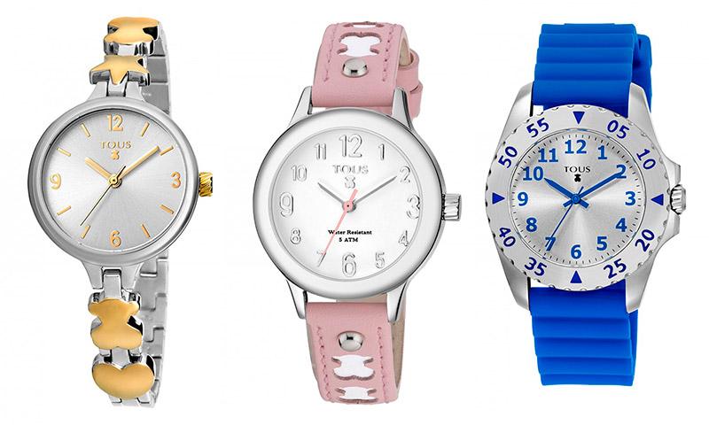 ¿Aprender a decir la hora con estilo? Sí con la colección de relojes para niños de TOUS