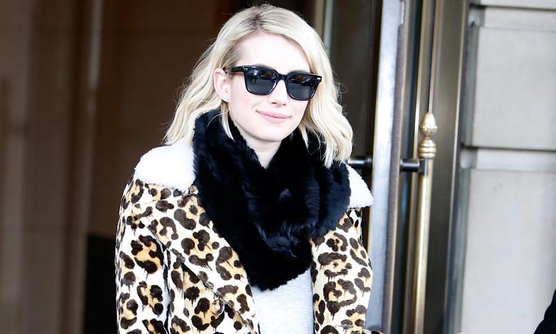 Emma Roberts tiene el 'uniforme' que querrás llevar este otoño-invierno