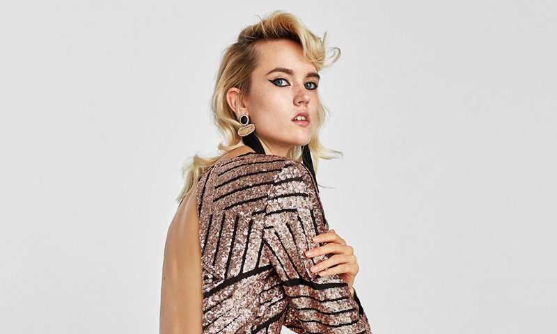 Adelántate a las fiestas navideñas con estos ochos vestidos de lentejuelas de Zara
