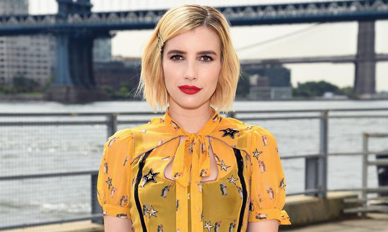 Emma Roberts (& Co.) y el curioso caso del vestido amarillo