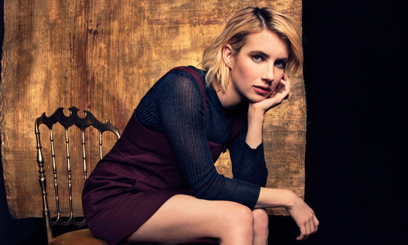 Emma Roberts logrará que vuelvas a vivir un 'affaire' con esta prenda de tu niñez