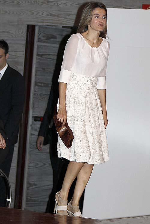 Doña Letizia, con la moda más comprometida