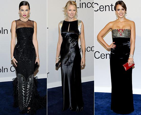 Vestidos de fiesta negro con plata