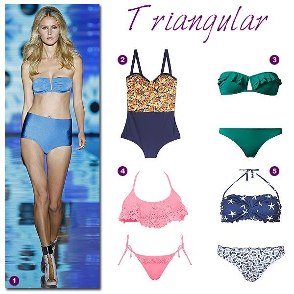 adf418e49508 Trucos de moda: Los mejores bañadores y bikinis según tu tipo de cuerpo