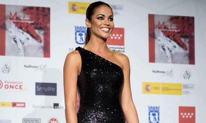 El inesperado vestido de invitada con efecto tatuaje de Lara Álvarez