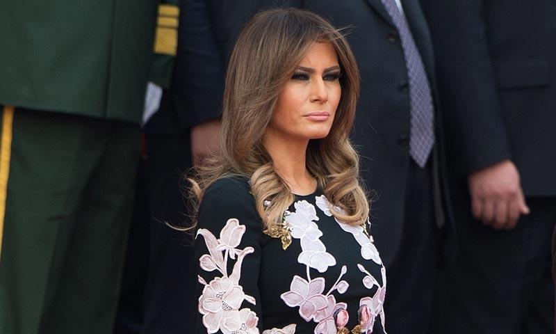 El estilo con el que Melania Trump está sorprendiendo en su gira asiática