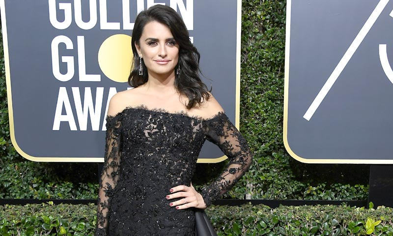 Las curiosidades que no esperas del look de Penélope Cruz en los Globo de Oro