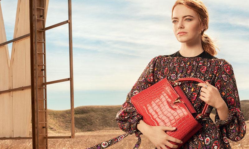 El último éxito de Emma Stone: protagonizar la nueva campaña de Louis Vuitton