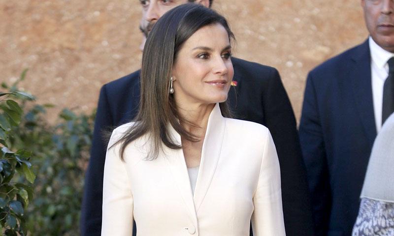 Doña Letizia recupera el traje de su pedida de mano por San Valentín