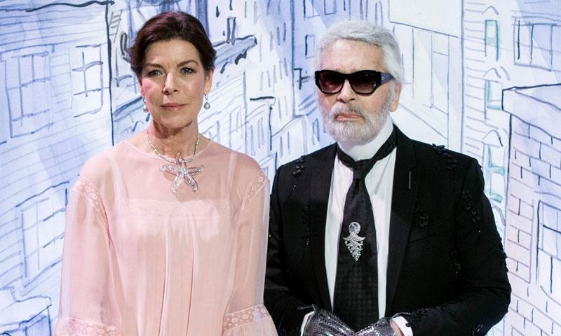 La fascinante historia de Karl Lagerfeld y Carolina de Mónaco, su otra musa