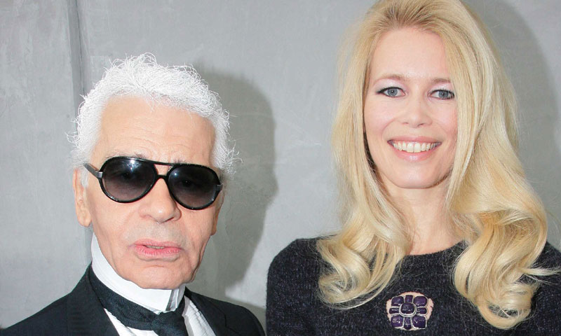 El mundo entero llora la muerte de Karl Lagerfeld