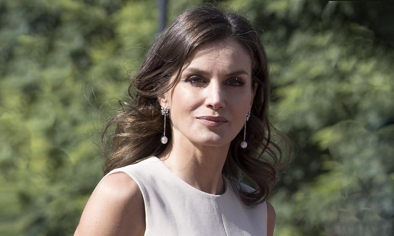 ¿Qué 'top' española llevó antes el vestido evasé de la Reina?