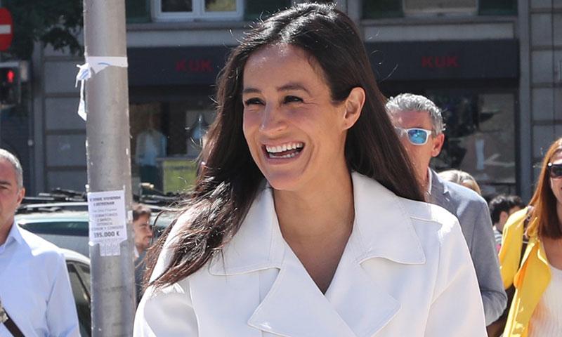 La conexión de estilo de Begoña Villacís con el look más comentado de Meghan Markle