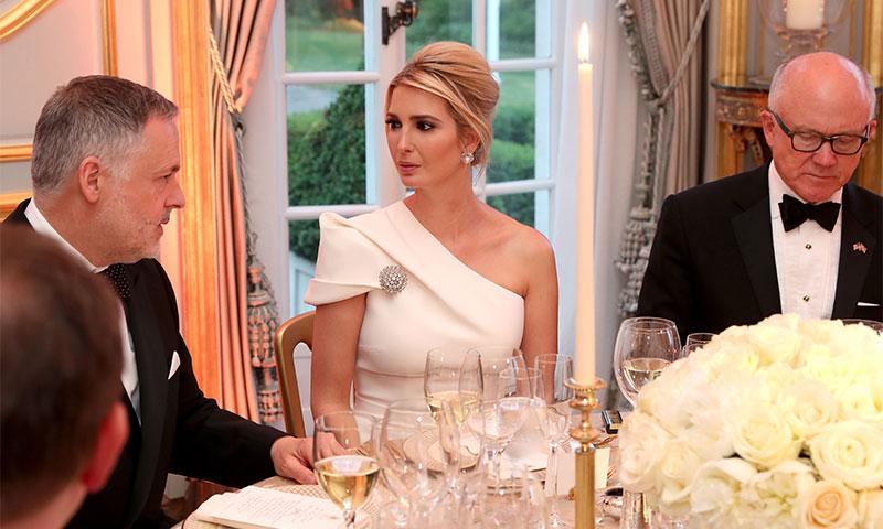 El homenaje de Ivanka Trump a Diana de Gales para su segunda cena en Londres