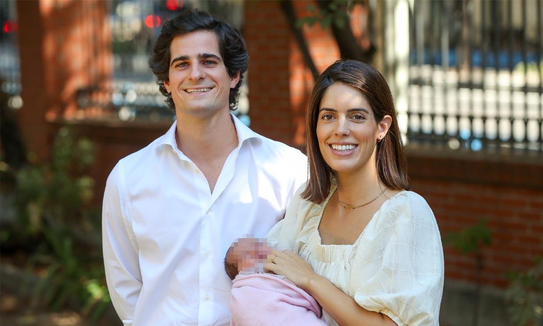 Al parecer, la duquesa de Huéscar podría confiar en su prima Inés Domecq para su vestido en el bautizo de su hija