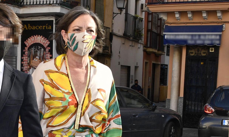 Matilde Solís y Sofía Barroso, dos invitadas con estampados de tendencia en el gran día de su nieta