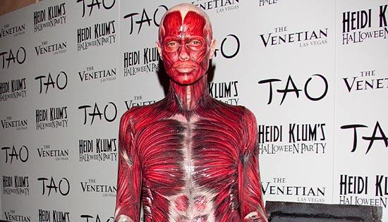 Heidi Klum y su original disfraz de halloween