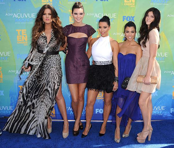 Resultado de imagen para premios PCAs clan kardashian