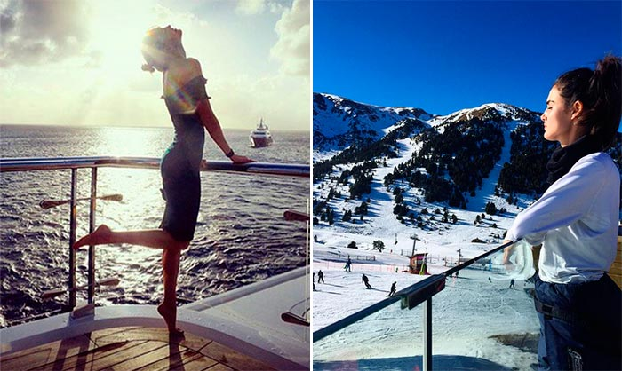Vacaciones 'top': Playa 'vs' montaña ¿Dónde 'cargan las pilas' las modelos?