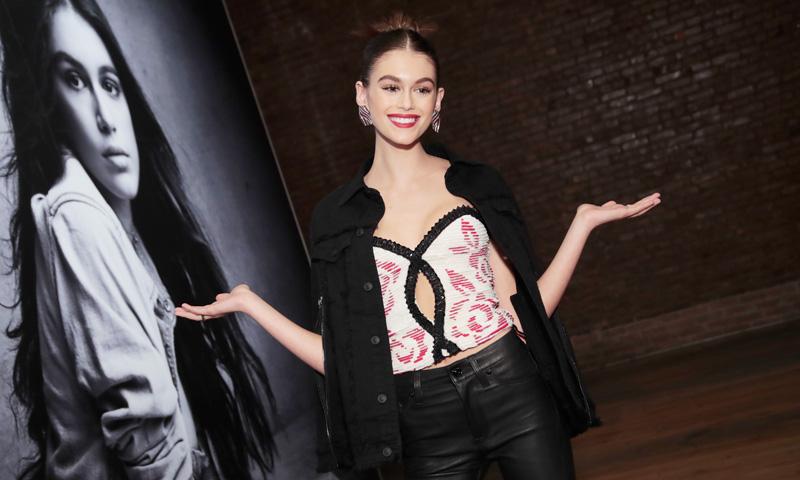 Kaia Gerber, la joven modelo que hace temblar a las hermanas Jenner y Hadid