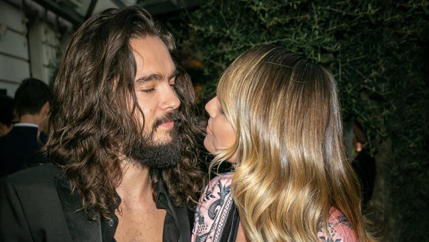 Heidi Klum y Tom Kaulitz reviven su primer beso sobre la alfombra roja un año después