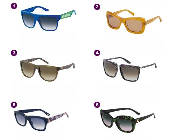 Gafas de sol 2012 color