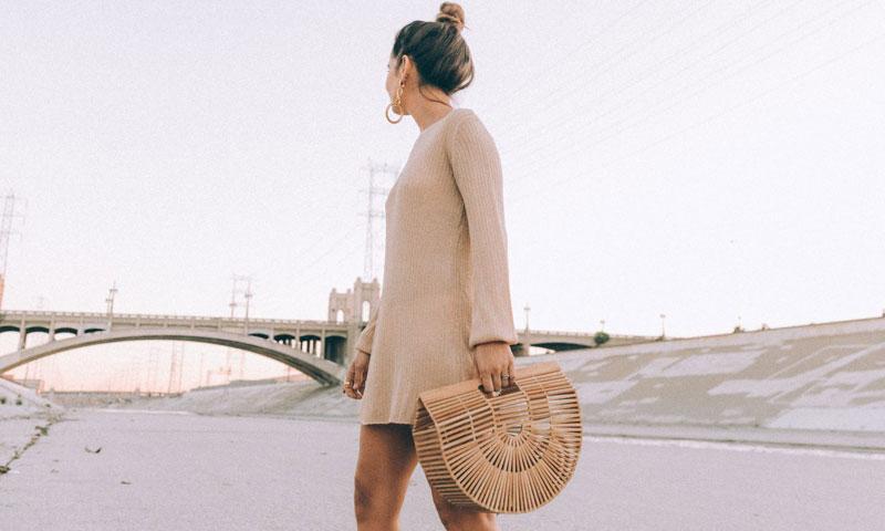 El bolso de la temporada es de bambú y viene de Japón