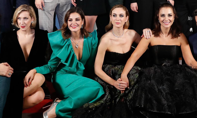 De Paula Echevarría a Marta Hazas: los vestidazos de las 'chicas Velvet' para despedir la serie