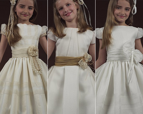 Encajes para vestidos de comunion