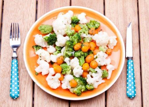 Dieta equilibrada para ninos vegetarianos