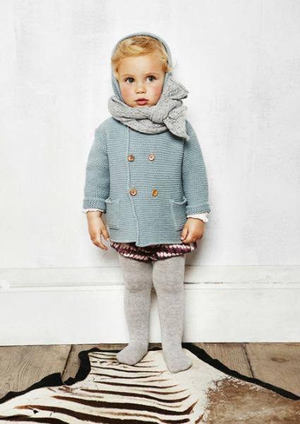 ¿Cómo será la ropita que vestirán los bebés este invierno  242b428e01a