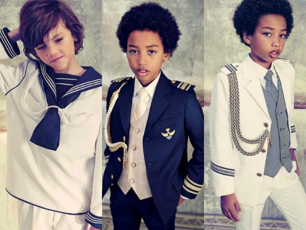 e9ada8152 Así son los primeros vestidos y trajes de Comunión de 2014