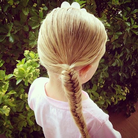Peinados Nia Trenzas Es Un Peinado Fcil De Hacer Lo Que Debes Hacer - Peinados-de-nia