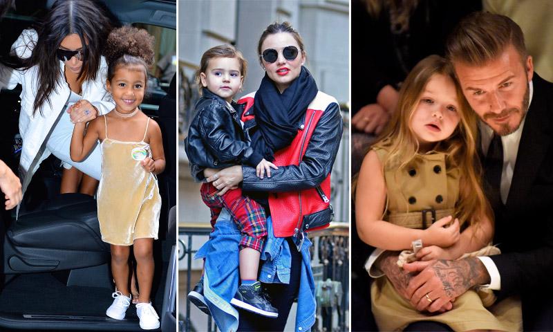 moda infantil hijos de famosos